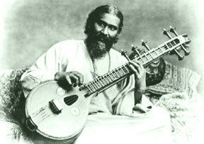 Inayat Khan with Vina